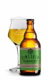 SIMSSEER Schloßberger Kellerpils Flasche mit Glas