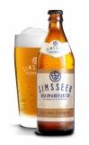 SIMSSEER Volle Pulle alkoholfrei Flasche mit Glas